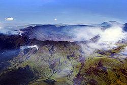 Caldera volcán Tambora